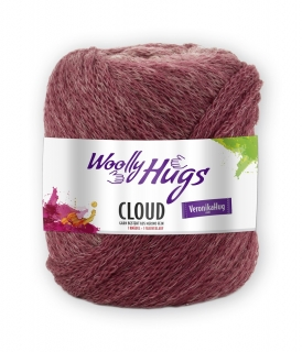 Wolly Hugs Cloud 187 burgundská ombré